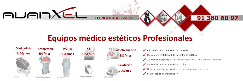 equipos medicos esteticos profesionales