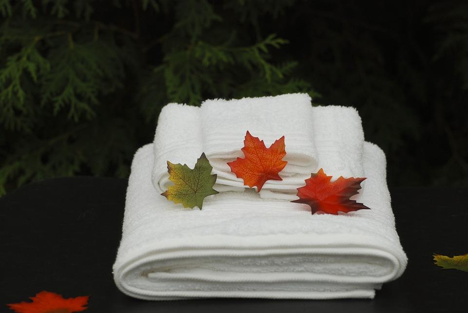 toallas centro de estética